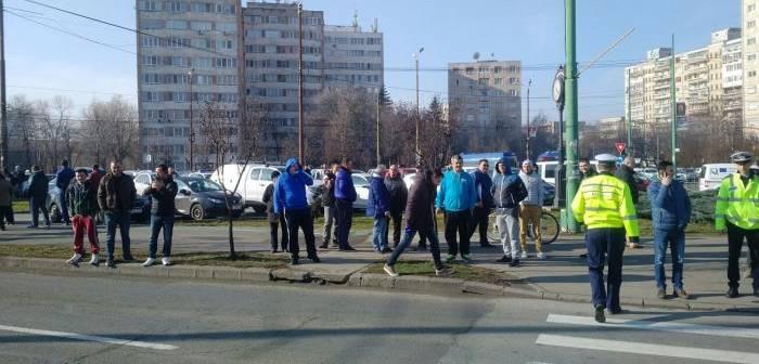 Protest Taximetristi: Taximetristi Amendati Cu Zecile La Timisoara, Dupa